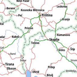 Mapa Srbije   Mapa Evrope